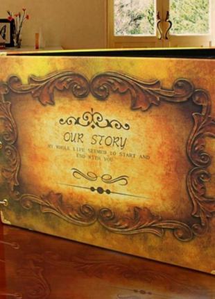 Семейный фотоальбом Our Story (Наша история)