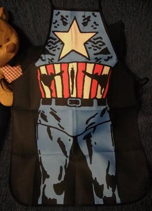Фартук Капитан Америка