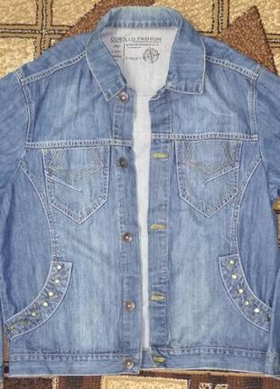 Джинсовая куртка corollo
