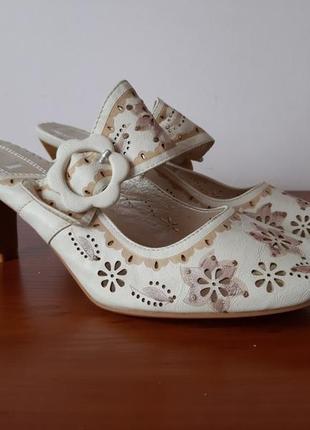 Босоножки туфли летние женские на каблуке