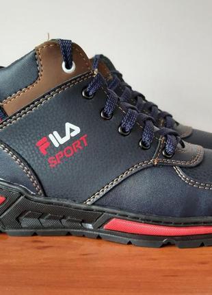 Мужские подростковые зимние ботинки