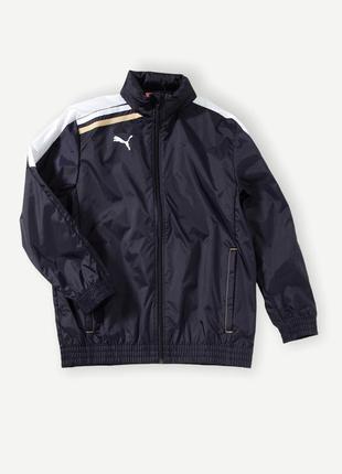 Куртка ветровка дощовик puma спортивная чорная оригинал