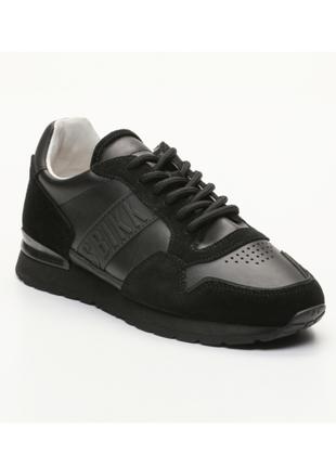Новые кожаные кроссовки bikkembergs