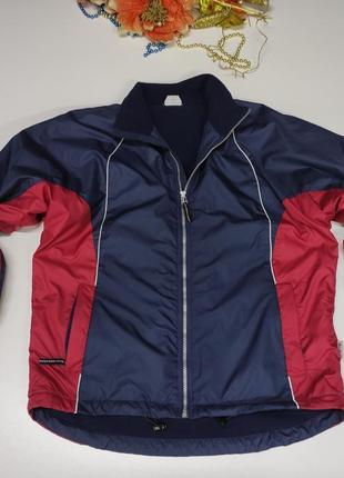 Женская спортивная куртка весна - осень на флисе размер 44-46