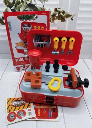 Детский игровой набор Toy Tool Детский набор инструментов с рюкза