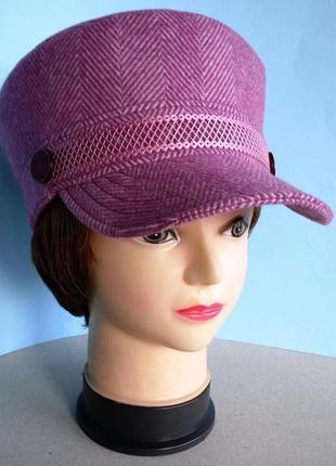 Кепи картуз шляпа кепка капитанка фуражка цвет фуксия