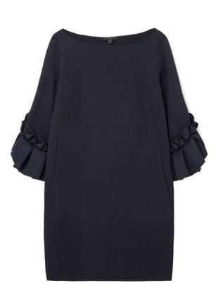 Стильное фактурное платье cos
