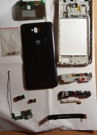 Huawei y6 pro (tit-u02) аккумулятор разборка