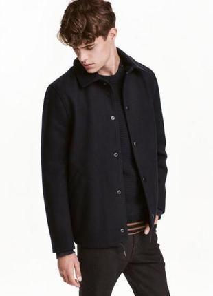 Куртка из смесовой шерсти