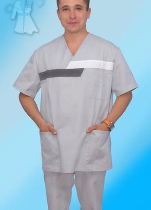 Мужской хирургический медицинский костюм