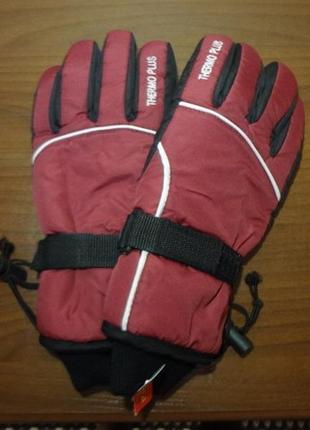 Горнолыжные термо перчатки