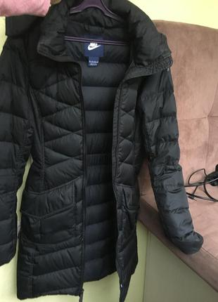 Пуховик пальто женское куртка nike найк