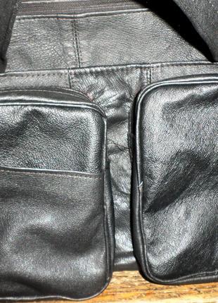 Мужская кожанная сумка,370грн.