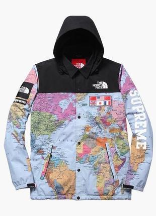 """🔥🔥куртка supreme x tnf """"map jacket""""🔥🔥"""