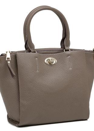 Модная стильная женская кожаная casual городская сумка ручной ...