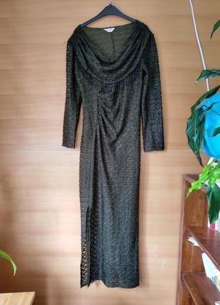 Вечернее длинное платье susan bristol