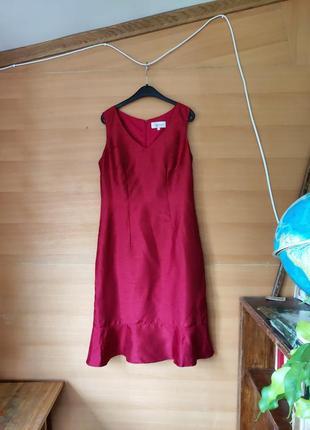 Платье карандаш в деловом стиле искусвенный шелк