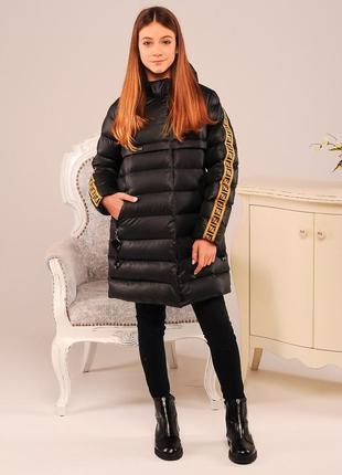 Стильная модная детская зимняя куртка качественный пуховик на ...