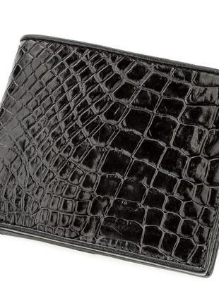 Портмоне мужской кошелек из натуральной кожи крокодила стильны...