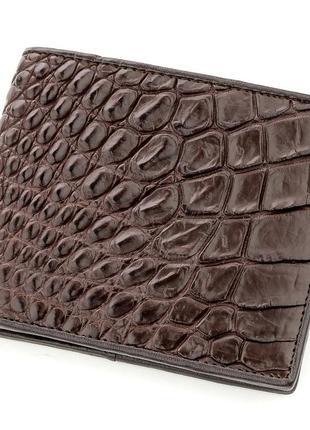 Портмоне мужской кошелек натуральная кожа крокодила стильный с...