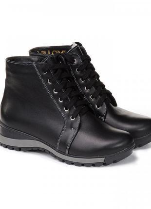 Стильные модные женские кожаные повседневные спортивные ботинк...