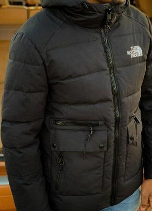 Мужская зимняя куртка норд фейс, реплика см.описание