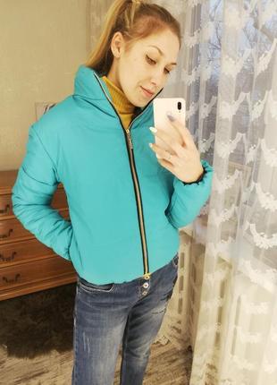 Куртка женская, бомбер