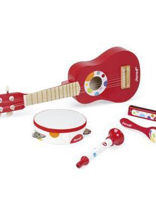 Музыкальная игрушка Janod Набор музыкальных инструментов (J07626)