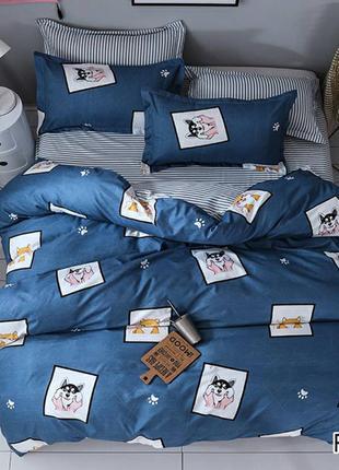 Комплекты постельного белья. 100% хлопок, ранфорс, бязь. Разные.