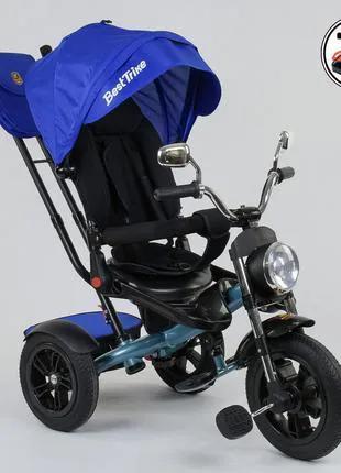 Трехколесный велосипед 2761, поворотное сиденье, складной руль
