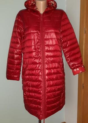 Стильная двусторонняя удлиненная куртка
