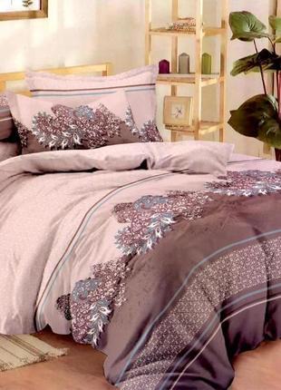 Постельное белье из сатина двуспальный комплект