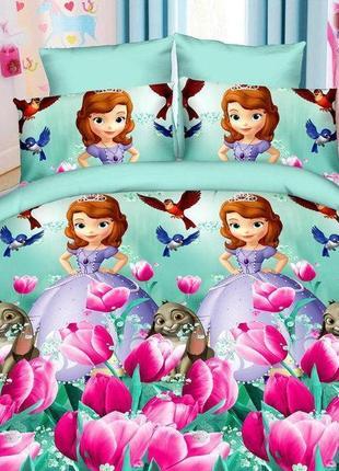 Комплект постельного белья принцесса софия . бязь