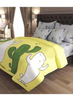 Хит! постельное белье кактус и кот