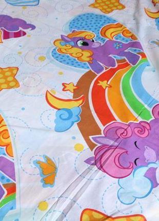 Постельное белье для девочек  маленькая пони