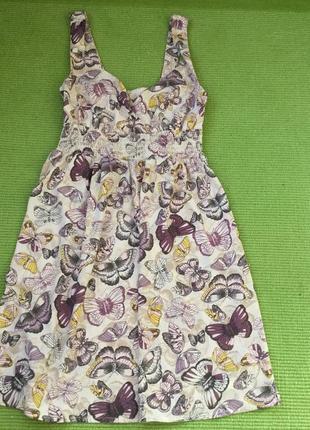 Стильное платье h&m размер с