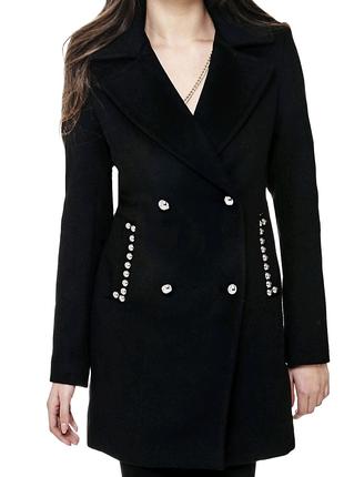 Пальто Guess новое оригинал шерсть куртка пуховик парка худи топ