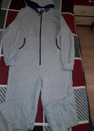 Отличный мужской комбинезон пижама домашний костюм smart fit
