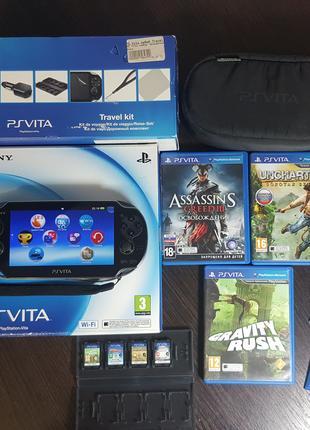 Консоль Sony PS Vita 8GB (можно взломать, чит. описание)