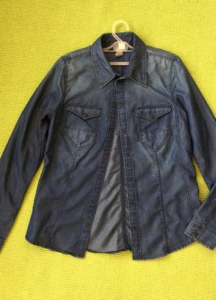 Стильная рубашка g star raw размер s