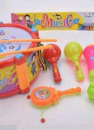 Большой игровой набор музыкальные инструменты для малышей
