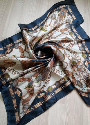 Шелковый платок шов роуль peter hahn