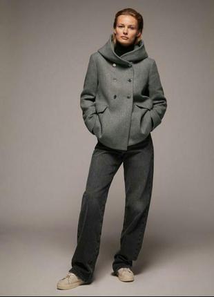 Шерстяные пальто zara