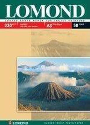 Глянцевая фотобумага Lomond A3 (297x420) 230 гр/м2, 50 листов,...