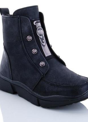 Модные качественные зимние ботинки для девочки