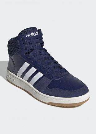 Мужские кроссовки adidas hoops 2.0 mid ee7384
