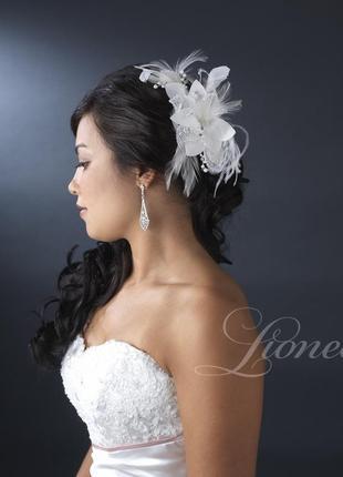 """Гребешок """"арабелла"""". украшение для волос. гребень свадебный"""