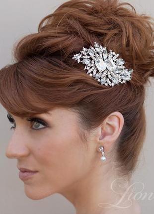 Гребешок кассандра . украшение для волос. гребень свадебный