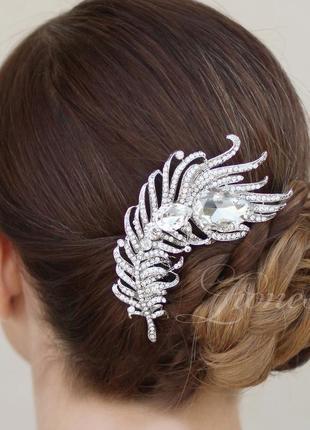 Гребешок лиора. украшение для волос. гребень свадебный