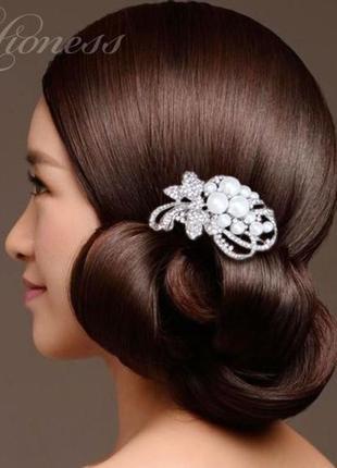 Гребешок марсель. украшение для волос. гребень свадебный